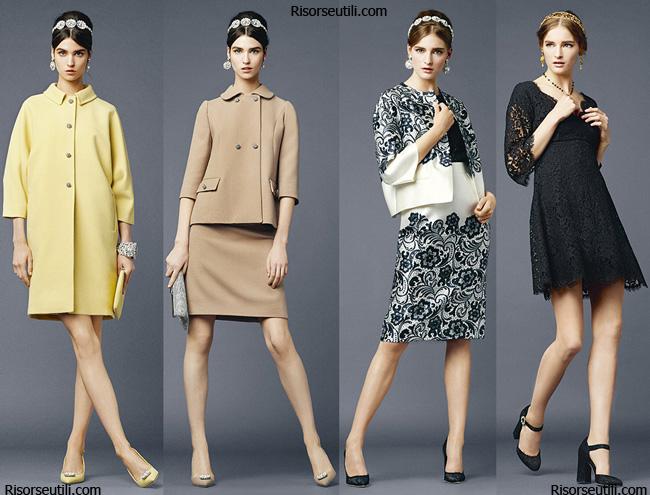 Clothing Dolce Gabbana spring summer 2014 womenswear