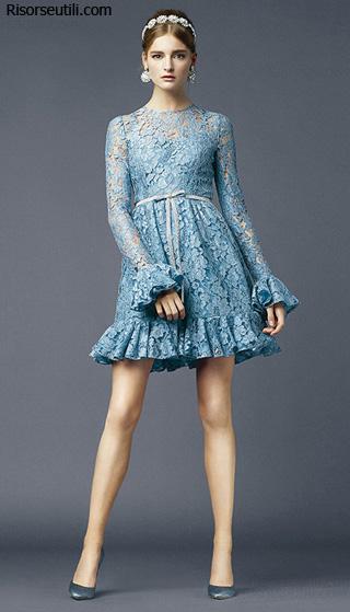 Dolce Gabbana Spring Summer 2014 womenswear fashion collection