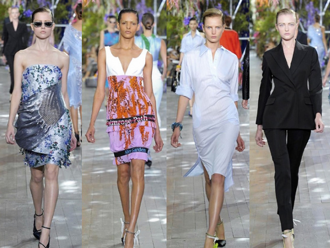 Dresses Christian Dior spring summer 2014