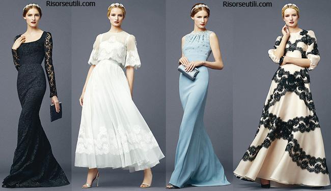 Dresses Dolce Gabbana spring summer 2014 womenswear
