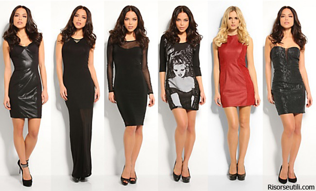 Dresses Guess spring summer 2014 womenswear
