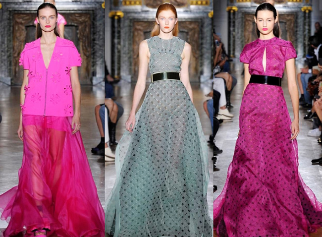 Dresses look lifestyle John Galliano 2014 womenswear