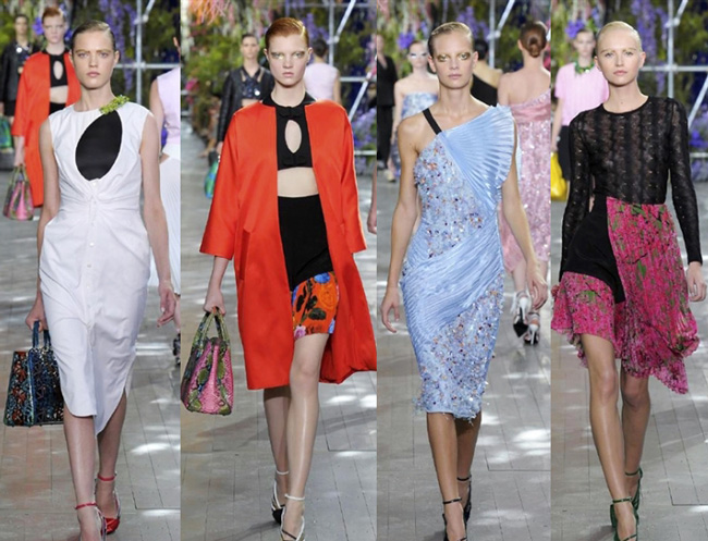 Fashion Christian Dior spring summer 2014