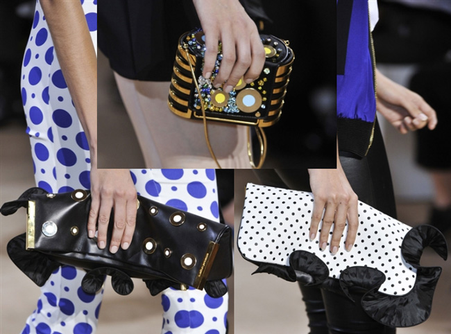 Handbags Emanuel Ungaro spring summer 2014