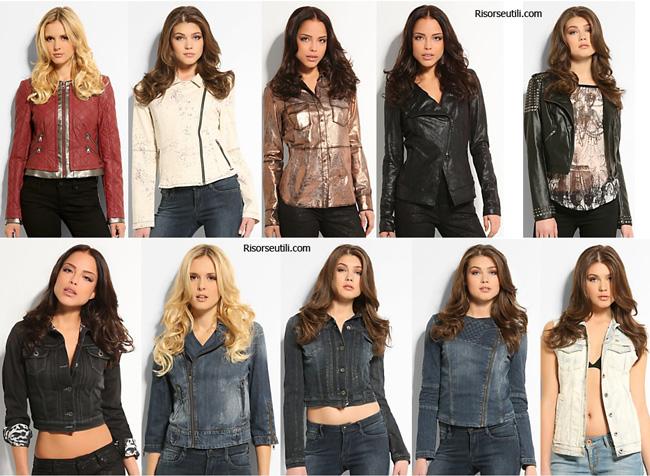 Jackets Guess spring summer 2014 womenswear