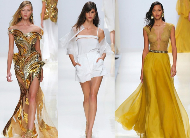 Lifestyle dresses Valentin Yudashkin spring summer 2014