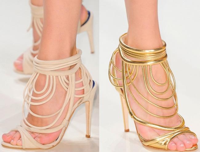 Lifestyle shoes Valentin Yudashkin spring summer 2014