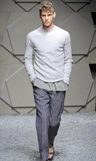 Mens Ermenegildo Zegna spring summer 2014 menswear fashion