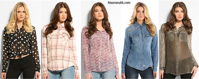 Shirts Guess spring summer 2014 womenswear