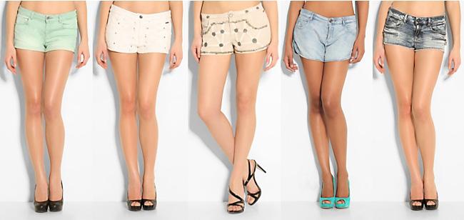 Shorts Guess spring summer 2014 womenswear