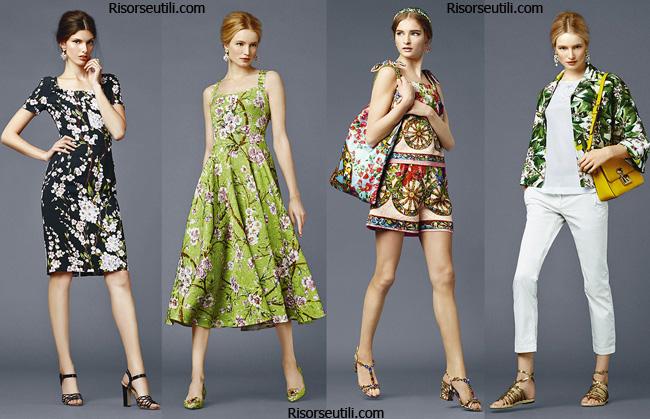 Trends Dolce Gabbana spring summer 2014 womenswear