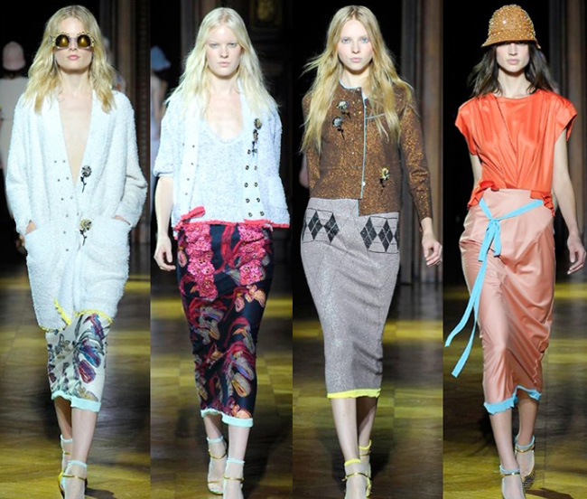 Womens look lifestyle Sonia Rykiel spring summer 2014