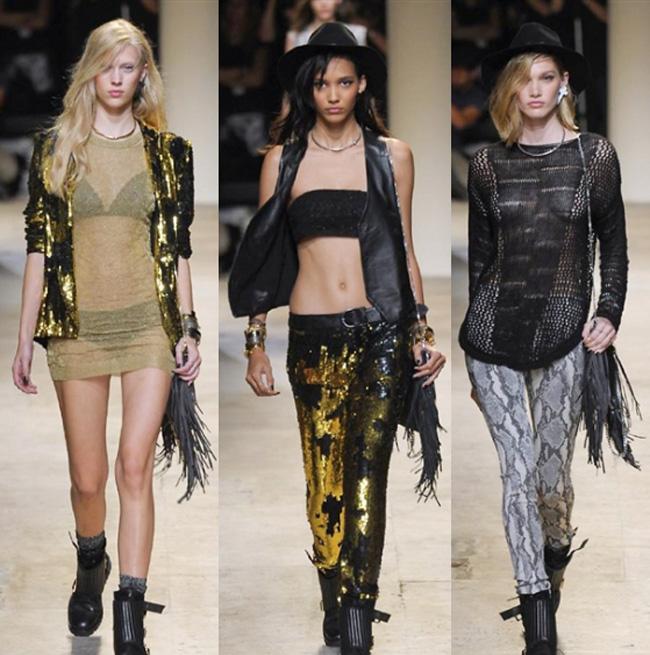 Zadig & Voltaire spring summer 2014 womenswear