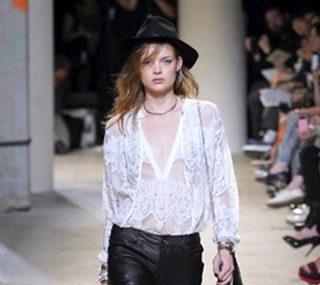 Zadig & Voltaire spring summer 2014 womenswear fashion collection