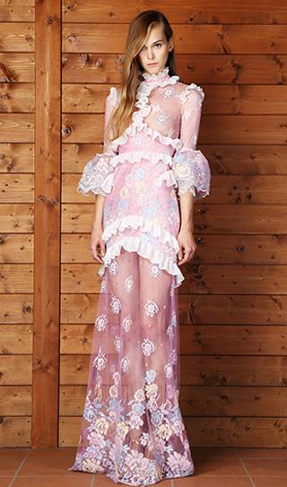 Dresses Alessandra Rich spring summer 2014 womenswear