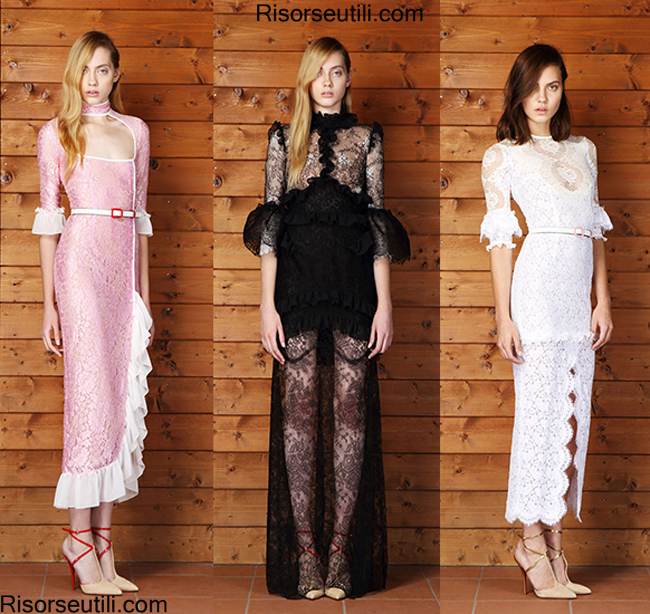 Fashion Dresses Alessandra Rich spring summer 2014 womenswear
