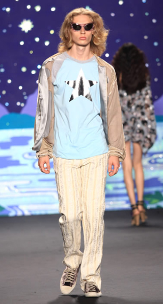 Lifestyle Anna Sui spring summer 2014 menswear look