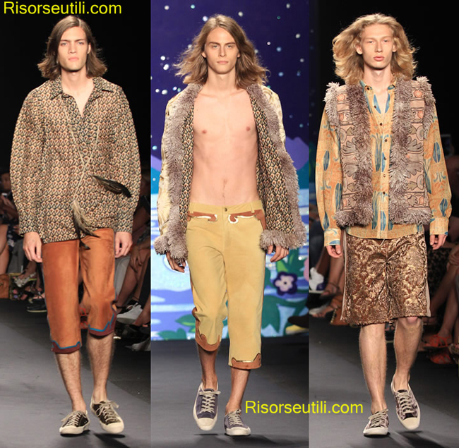 Look Anna Sui spring summer 2014 menswear