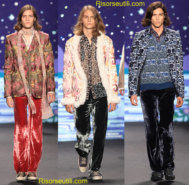 Trends Anna Sui spring summer 2014 menswear
