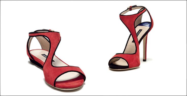 Sandals Alberto Guardiani Spring Summer 2014 Look 5