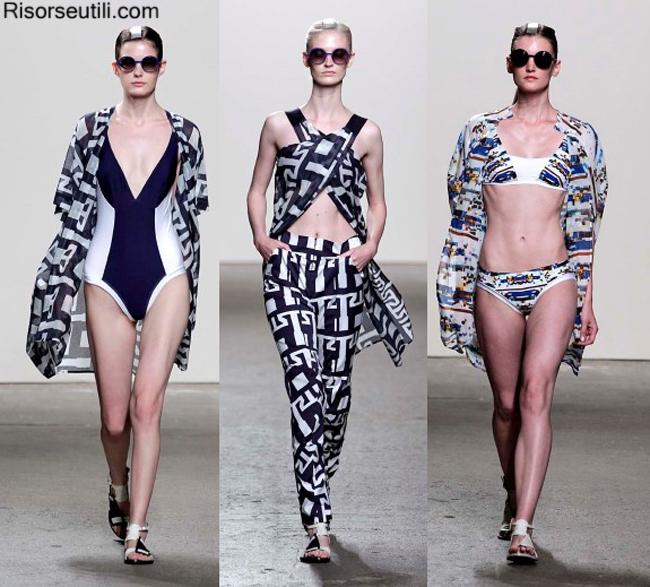Fashion beachwear Zero Maria Cornejo summer 2014