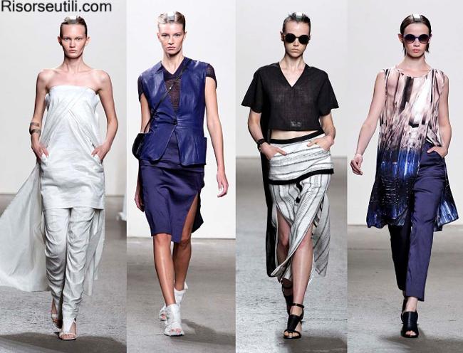 Fashion brand Zero Maria Cornejo summer 2014