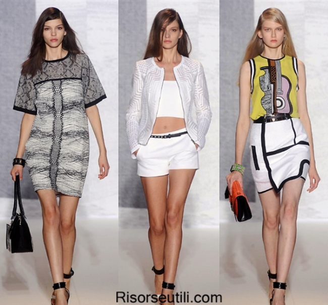 Fashion brand dress Andrew GN summer 2014