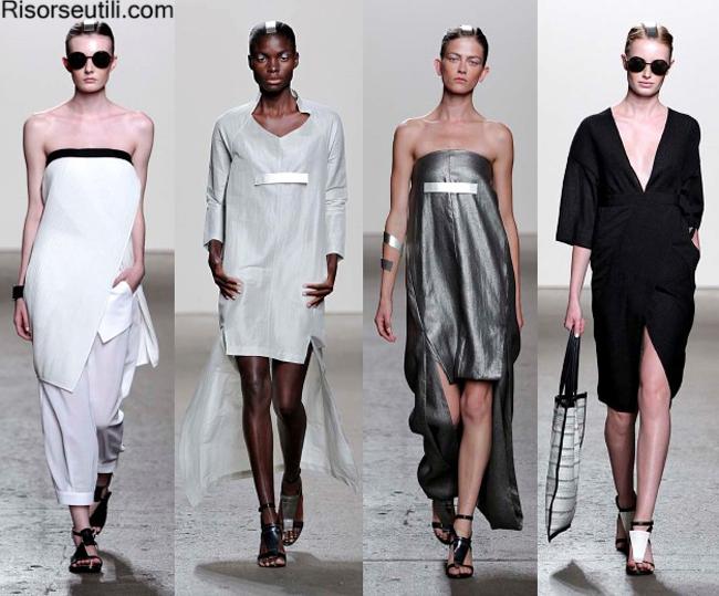 Fashion dresses Zero Maria Cornejo summer 2014