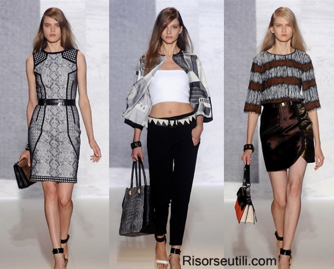 Fashion dresses brand Andrew GN summer 2014