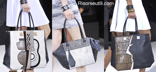 Fashion handbags Andrew GN summer 2014