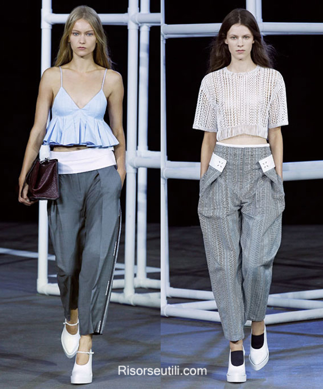 Lifestyle clothing Alexander Wang summer 2014