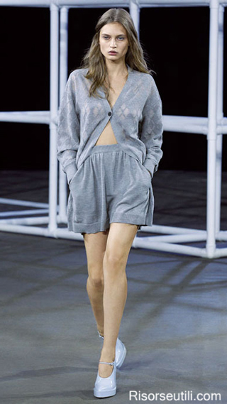 Lifestyle clothing Alexander Wang summer 2014 womens fashion trends