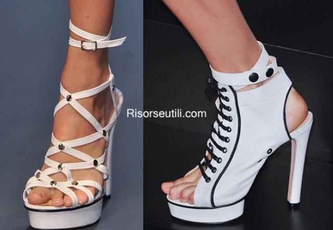 Sandals Jean Paul Gaultier summer 2014