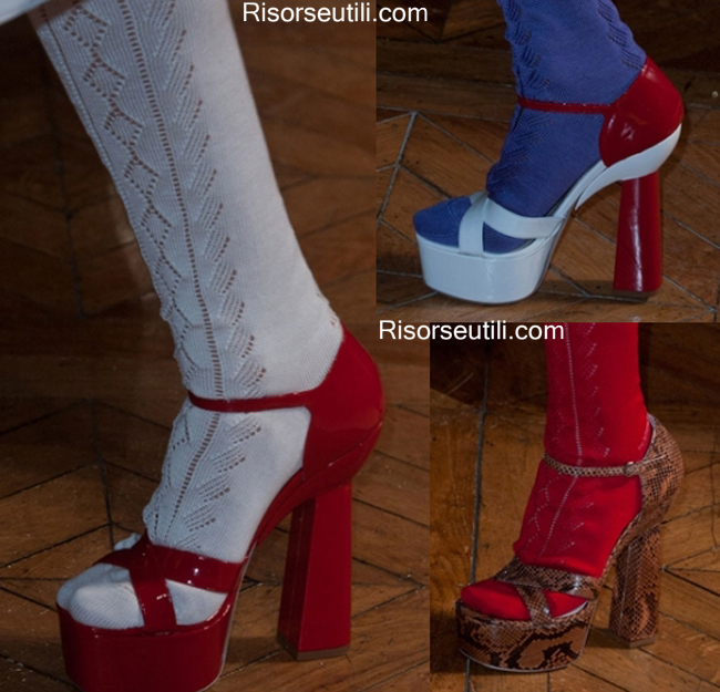 Sandals Miu Miu spring summer 2014 womenswear