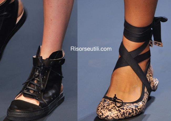 Shoes Jean Paul Gaultier summer 2014 womens wear