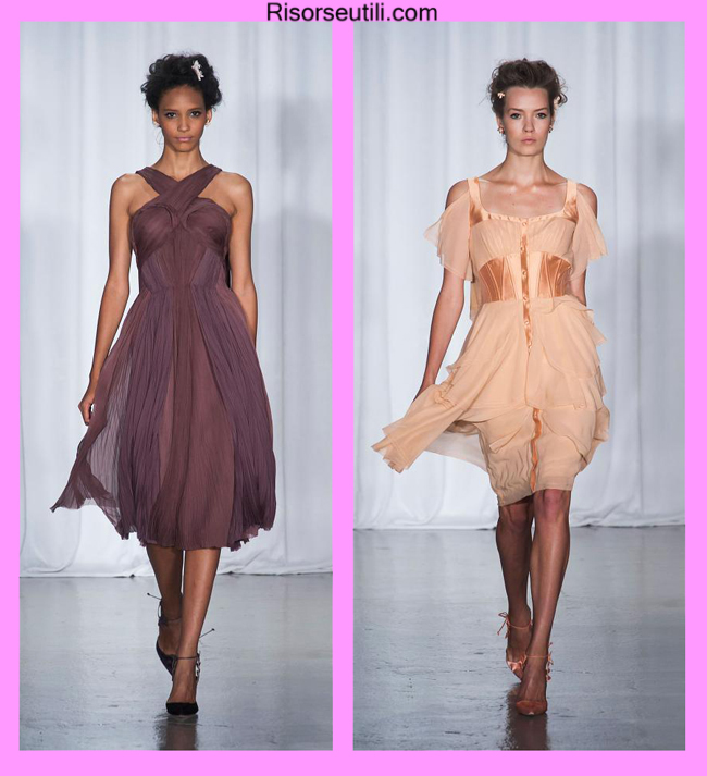 Couture dresses Zac Posen summer 2014 womenswear