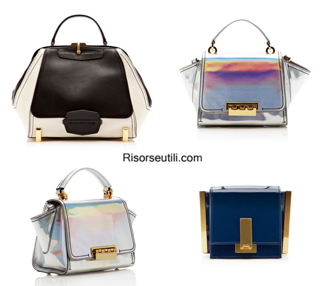 Fashion handbags Zac Posen summer 2014