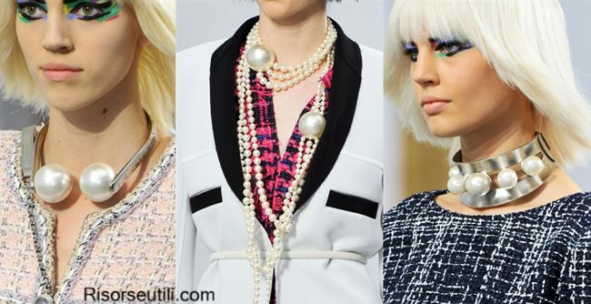 Fashion jewelry brand Chanel summer 2014