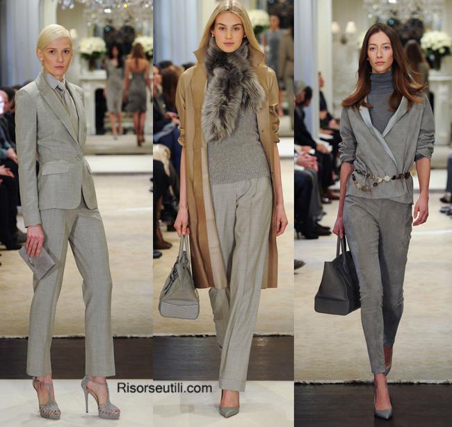 Fashion show accessories Ralph Lauren fall winter 2014 2015
