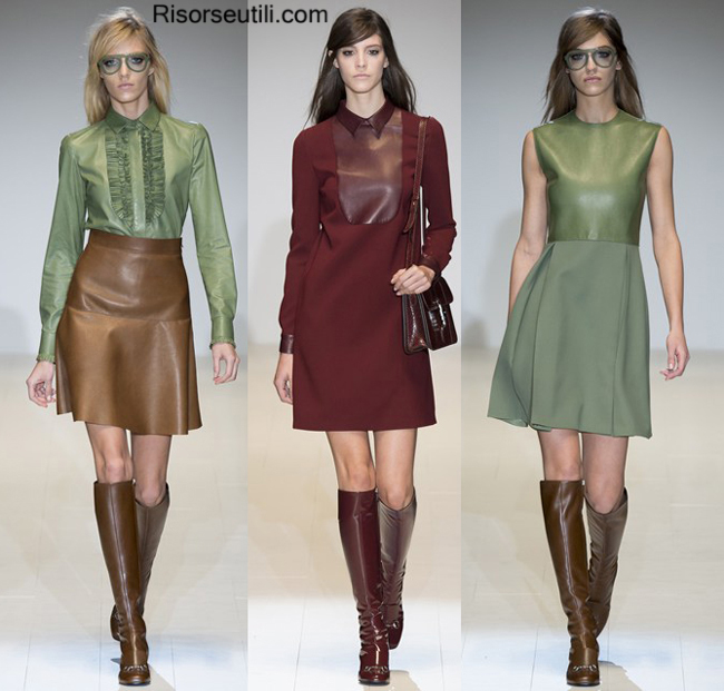 Fashion show Gucci fall winter 2014 2015 womenswear