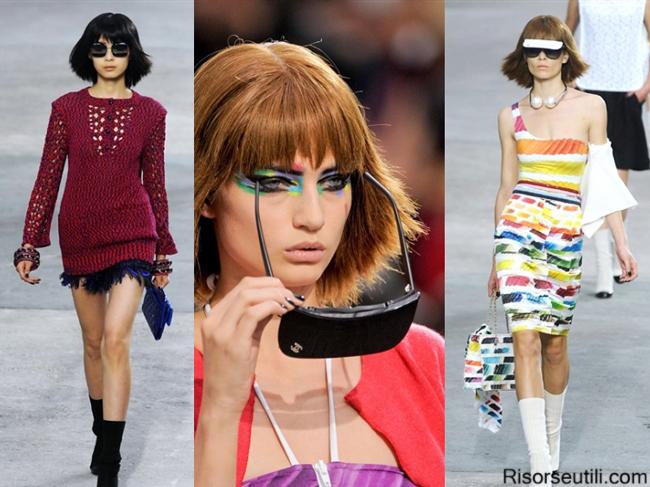 Fashion sunglasses brand Chanel summer 2014