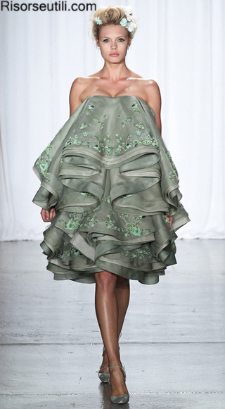 High fashion dresses Zac Posen summer 2014 womens clothing