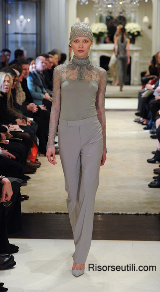 Ralph Lauren fall winter 2014 2015 womenswear fashion show