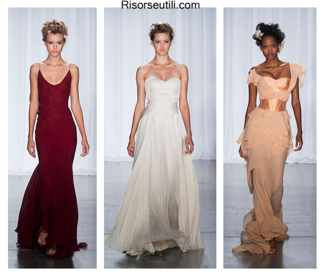 Women dresses Zac Posen summer 2014