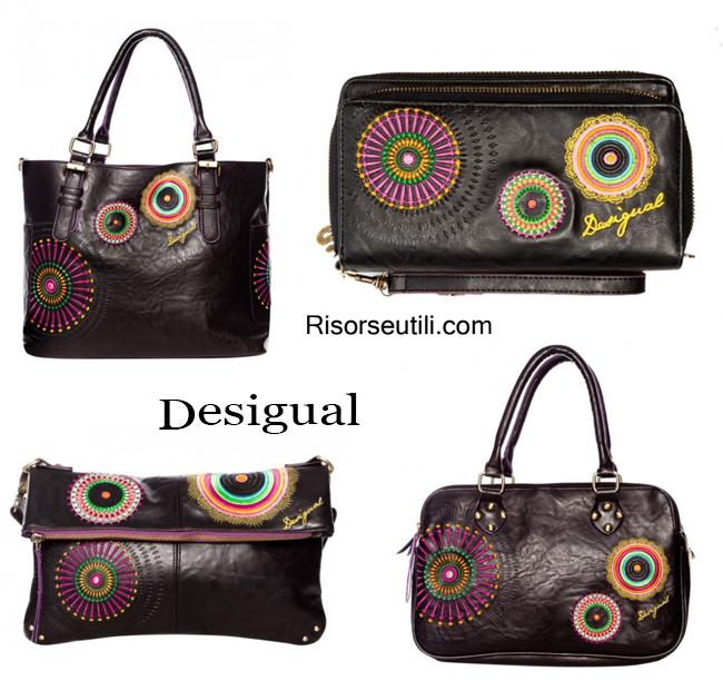 Handbags Desigual fall winter 2014 2015 womenswear bags