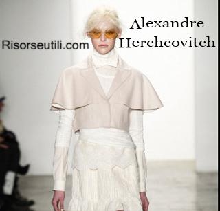 Alexandre Herchcovitch fall winter 2014 2015 womenswear