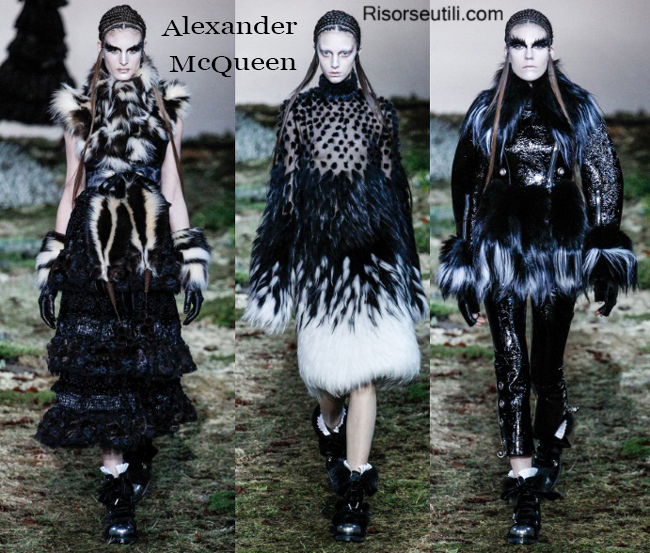 Clothing accessories Alexander McQueen fall winter 2014 2015