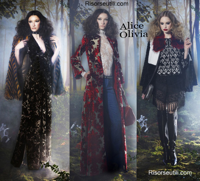 Clothing accessories Alice Olivia fall winter 2014 2015