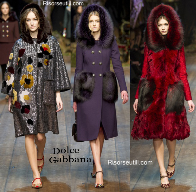 Clothing accessories Dolce Gabbana fall winter 2014 2015