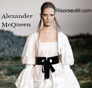 Fashion Alexander McQueen fall winter 2014 2015 womenswear